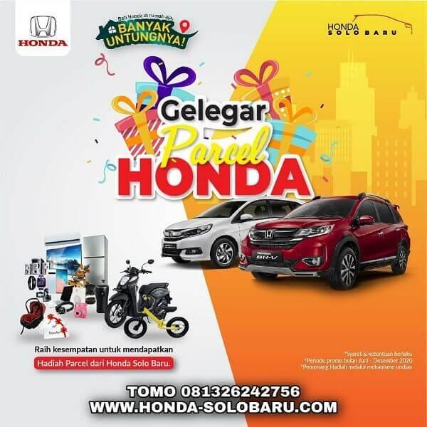 Promo Banyak Untung Gelegar Parcel Di Dealer Honda Solo